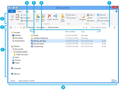 The File Explorer window