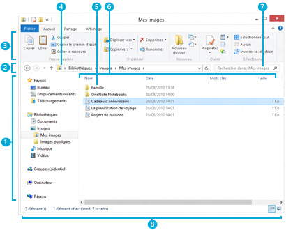 W8 l explorateur de fichiers puygounet for Fenetre windows 8