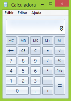 Janela Calculadora