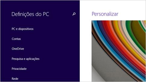 Definições do PC